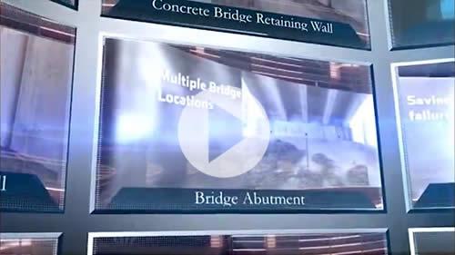 Jet Filter Application: Retaining Walls